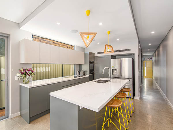 Major renovation including design, tender and project management services of this Petersham home