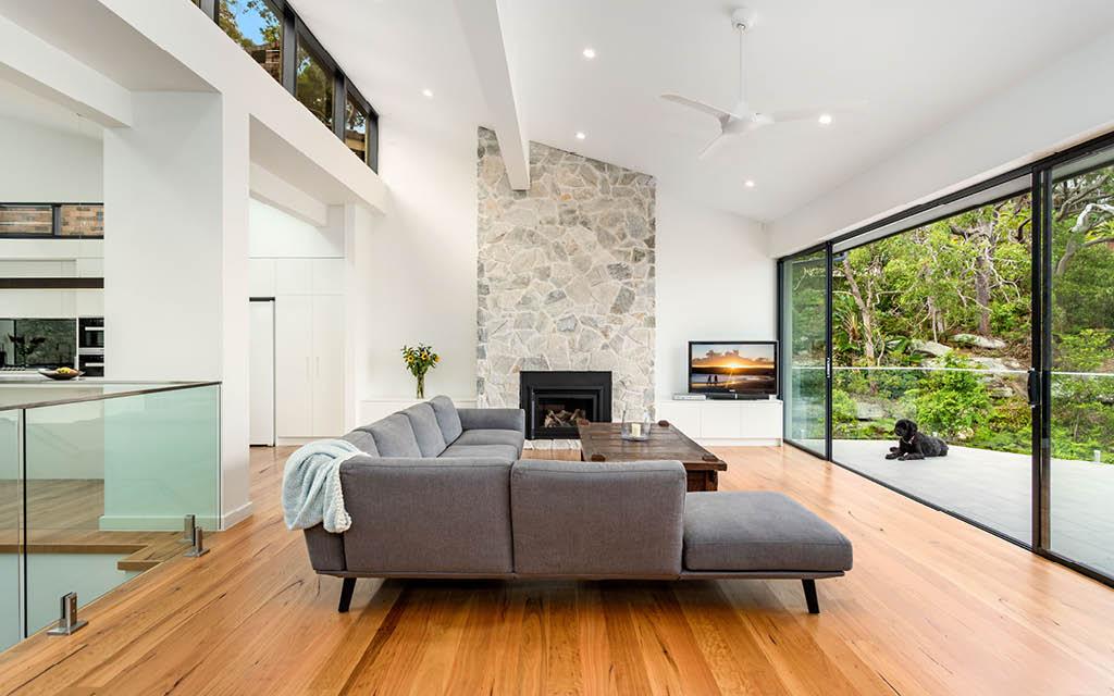 Combining architectural design and interior design