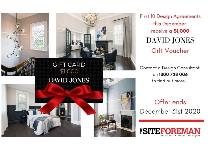 The Site Foreman Architects - December Campaign Offer image