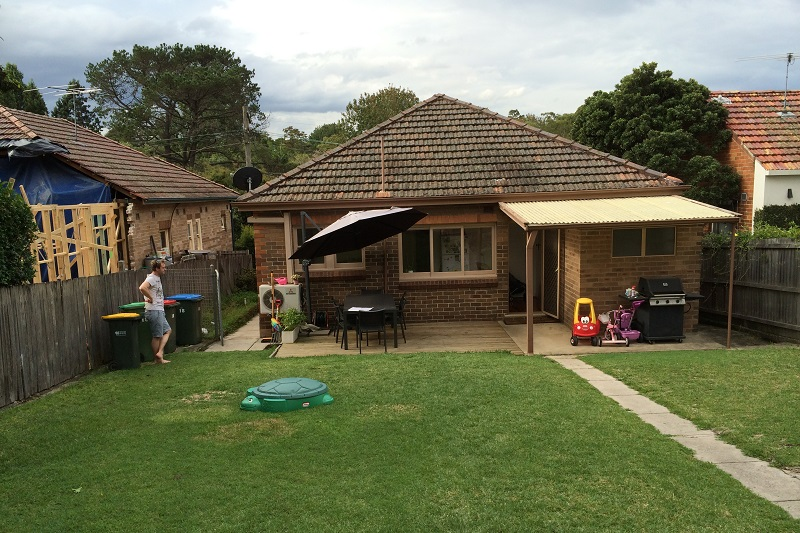 Before and After of Major Home Renovation and Extension by Sydney Architect, The Site Foreman, Gladesville, Inner West.