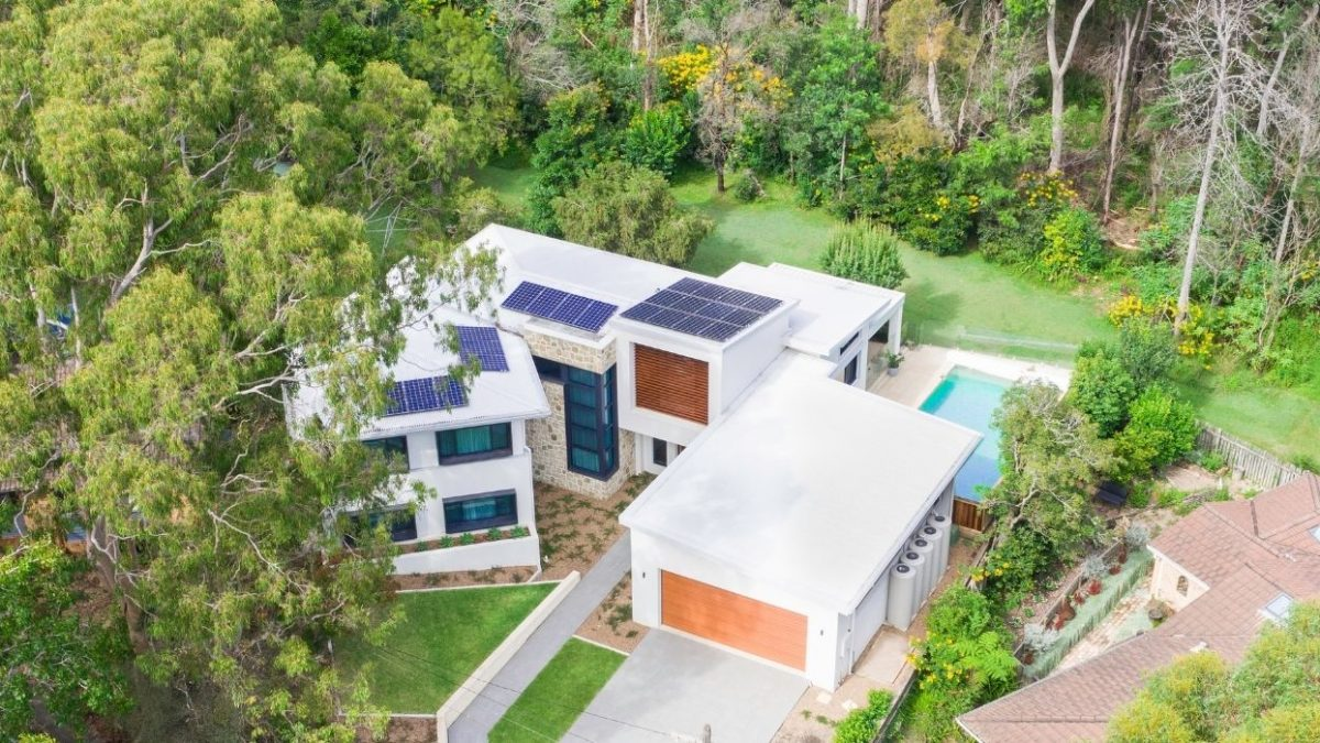 The Site Foreman - Sydney Architects - Knockdown Rebuild - Drone View