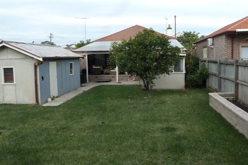 Californian Bungalow before renovation and rear extension
